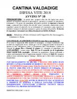Avviso n°10 Difesa 2018