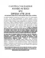 Avviso n°2 Difesa 2018