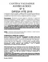 Avviso n°5 Difesa 2018