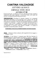 Avviso n°9 Difesa 2018