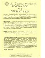 Avviso N°5 Anno 2020