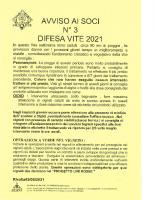 Avviso n. 3 2021